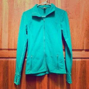 LUCY Athletic jacket in Kelley green XS